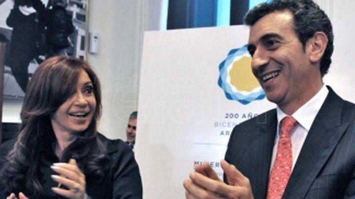 Cristina Kirchner y Randazzo