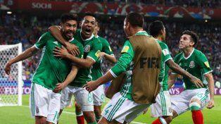 México ganó, pasó y eliminó a Rusia