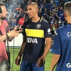 El Cata Díaz ascendió con el Getafe y festejó con la camiseta de Boca