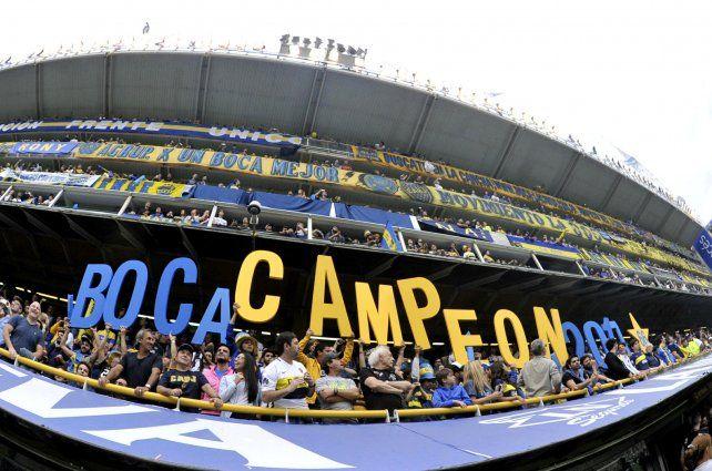 Boca Campéon! en fotos