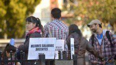 Protesta. Los docentes entrerrianos volverán a debatir esta semana sobre el plan de lucha.