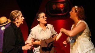 Elenco. Sylvia Mayer, Gabriela Werner, Rosana Ramírez y Alicia Gambelín encarnan a las hermanas.