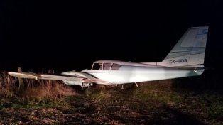 Derribaron a tiros una avioneta que transportaba 450 kilos de marihuana