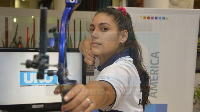 La arquera habló de su expectativas en la prueba de Ranking Mundial.