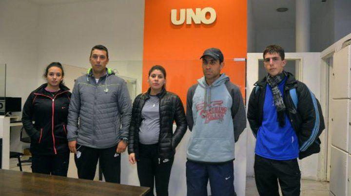 Justo reclamo. Los profesores irán hasta el final para tratar de cobrar. Foto UNO Mateo Oviedo