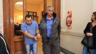 Caudana pasó por el juzgado y pensó que la guardia periodística era por él. Foto UNO Diego Arias.