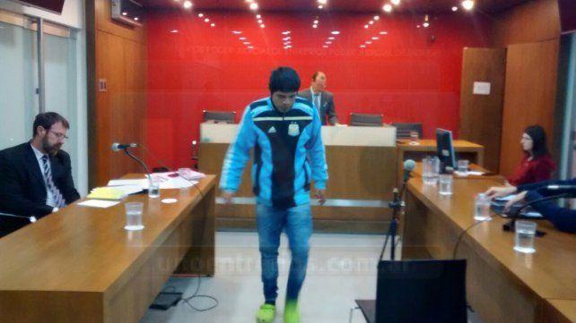 El Gato le pidió explicaciones al juez. Foto UNO Javier Aragón.