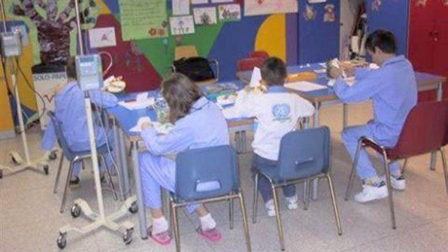 Inclusión. Son más de 500 los niños asistidos en la provincia.