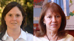 Lucía Varisco y Blanca Osuna