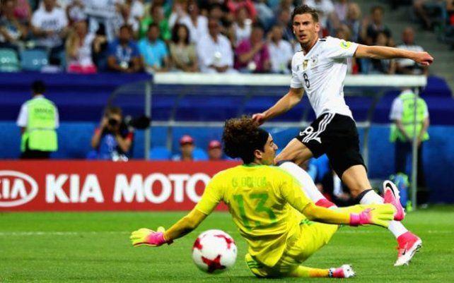 Alemania ganó y jugará la final ante Chile