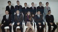 Parte de los integrantes de la lista de méritos.