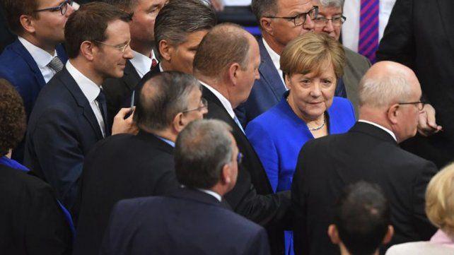 La canciller alemana