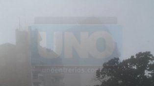 Recomiendan circular con precaución por la presencia de bancos de niebla