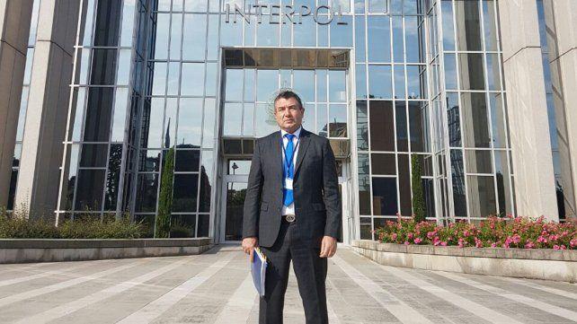 Evaluación mundial. Roncaglia participó de las deliberaciones de Interpol.