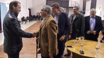 Gustavo Bordet mantuvo una reunión de trabajo con la Confederación Intercooperativa Agropecuaria (Coninagro).