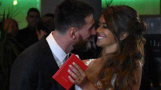 Messi y Antonela Roccuzzo ya son marido y mujer