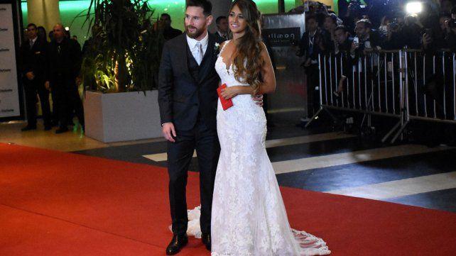 El secreto que guardó en sus zapatos Antonela durante su boda con Messi
