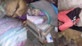 Concordia: dramático pedido por familia que vive en condiciones inhumanas