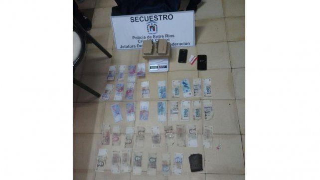 Detuvieron a dos hombres con droga en Chajarí