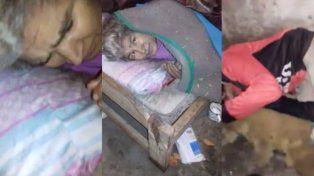 Concordia: les robaron las donaciones a una familia que vive en la miseria