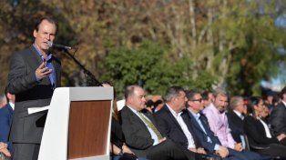 Acto. Bordet encabezó la conmemoración por los 160 años de la localidad del Departamento Colón.