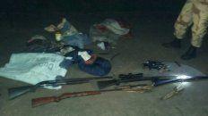 cazadores furtivos amenazaron de muerte a policias en una reserva natural