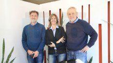 Balance. De la Rosa, Berduc y Enriquez analizaron los desafíos actuales de la Fundación.