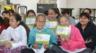 Educación. Hay un plan de trabajo con Red de Escuelas Verdes.