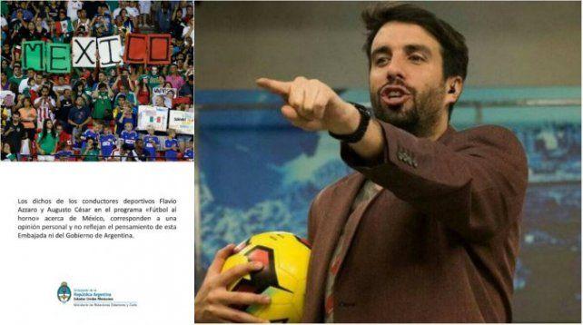 Un periodista habló mal del fútbol mexicano: el insólito descargo de la Embajada