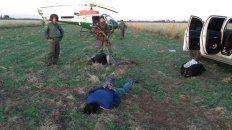 secuestraron casi dos toneladas de cocaina arrojada de una avioneta