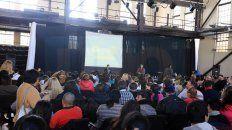 Compromiso. Más de 500 personas asistieron ayer a La Vieja Usina para formarse en el tema.