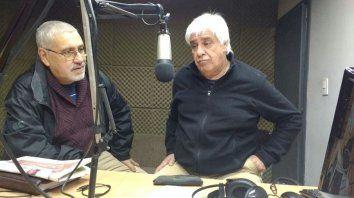 Julio Ledesma y José Carlos Cuestas visitaron los estudios de la 97.1 La Red Paraná.