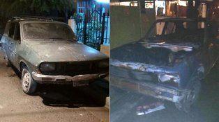 Incendiaron dos autos en la vía pública de Paraná