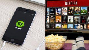 Netflix y Spotify empezarán a pagar impuestos en todo el país