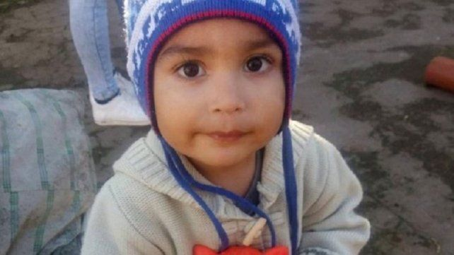 Ian Agustín Buceta tenía de 2 años