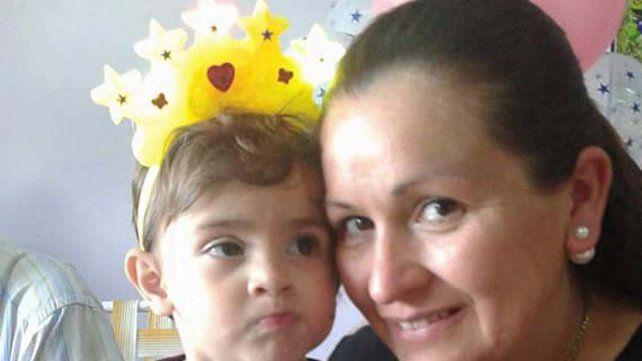 Saritah le ganó la batalla al cáncer y celebró por primera vez su cumpleaños en casa
