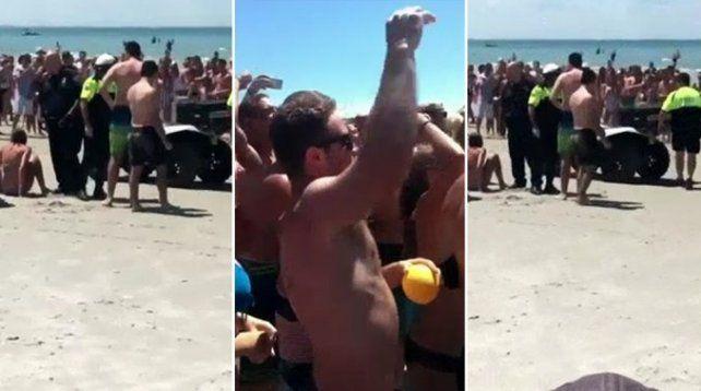 VIDEO: arrestaron a cuatro adolescentes por tener sexo en una playa