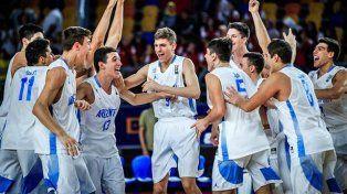 Argentina en cuartos de finales del Mundial U19