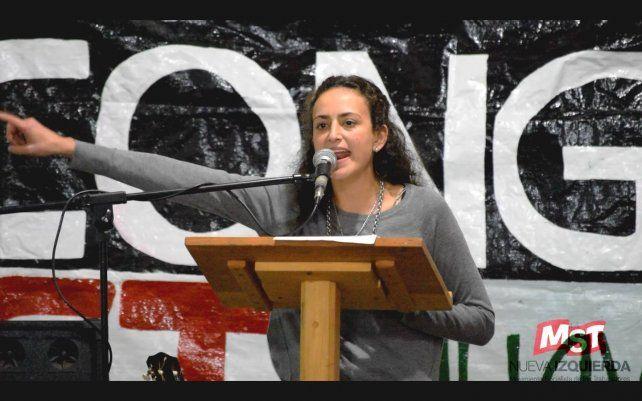 Nadia Burgos encabeza la lista de MST Nueva Izquierda.