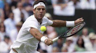 Juan Martín Del Potro busca la tercera ronda del Wimbledon