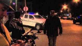 Lo estaban esperando. Gendarmería y la AFI tenían datos de la llegada del prófugo. Foto: 03442