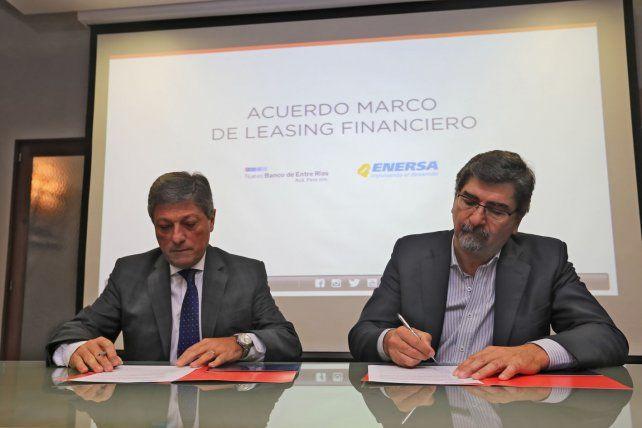 El Gerente General del Nuevo Banco de Entre Ríos