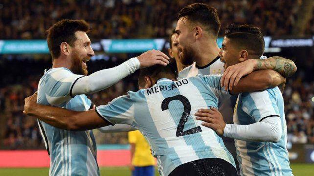 Argentina descendió al tercer puesto del ranking de la FIFA