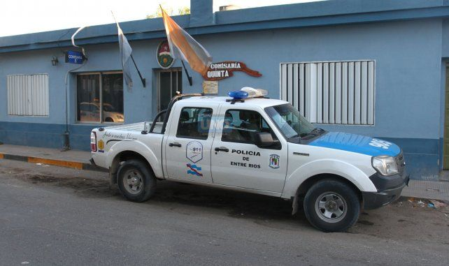 El joven fue llevado a la Comisaría Quinta. Foto UNO Diego Arias.