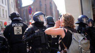 La marcha era pacífica hasta que llegaron los infiltrados.