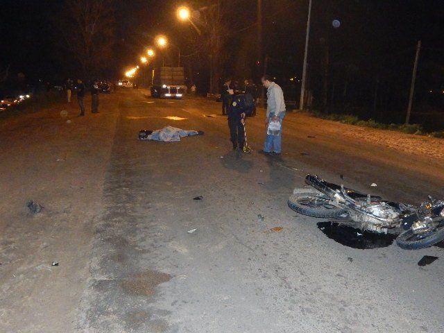 El accidente ocurrió en la ruta provincial 4. Foto PER.