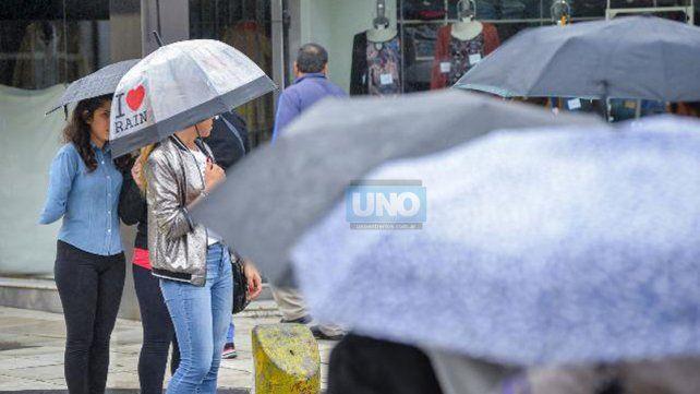 Rige un nuevo alerta por lluvias y tormentas fuertes para Entre Ríos