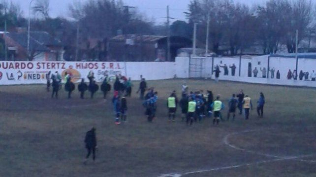 Incidentes en el clásico vialense por el Federal B