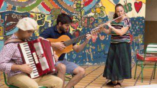 Movimiento. Los organizadores impulsan la enseñanza mutua y el encuentro de músicos.