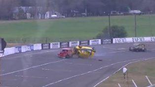 VIDEO: Cuatro Fititos chocan en la final Fiat 600 TZ